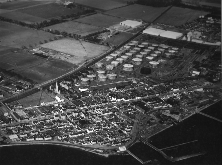 Aerial View of Invergordon looking North-East