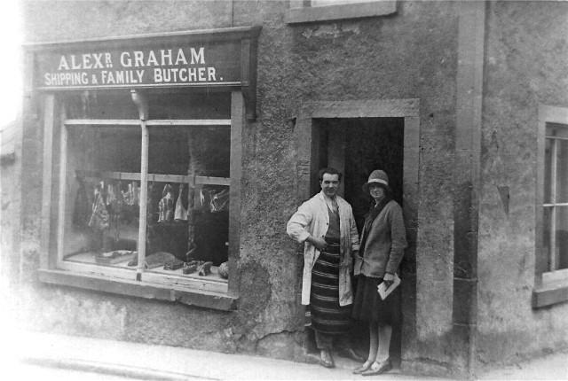 Invergordon Butcher's shop