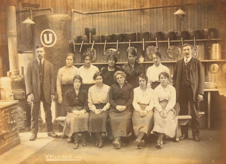 'U' Block Staff