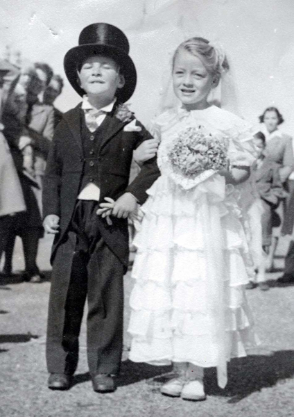 Me and Joan 1950