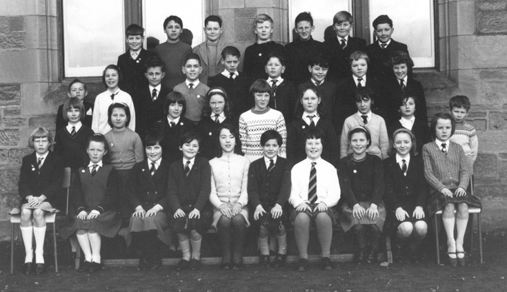 Invergordon Primary School P7 1965