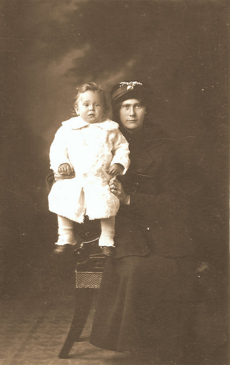 Mary Ann Martin (Dunn) and son Henry Dunn Martin
