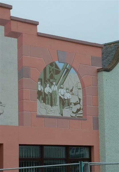 High Street Mural Panel detail