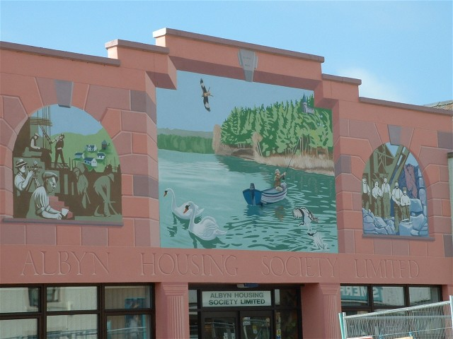 First Invergordon Mural finished