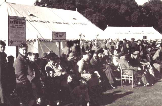 Highland Gathering 1952.