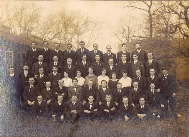Coppersmiths - Invergordon 1918