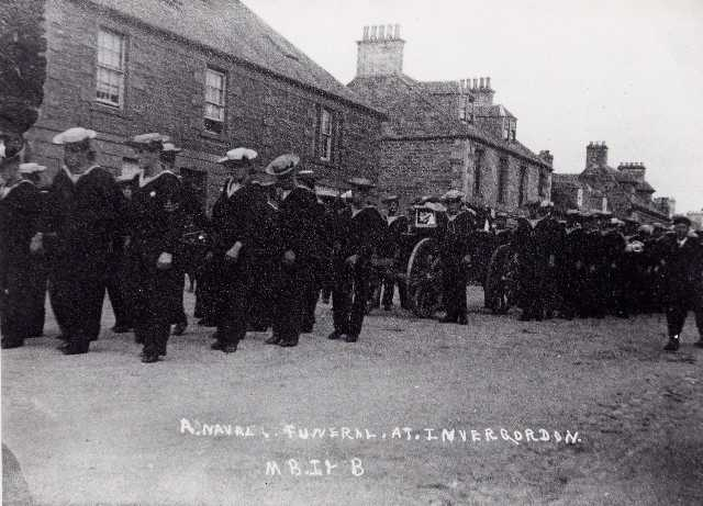 A Naval Funeral at Invergordon