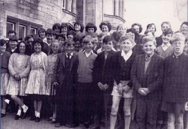 Invergordon Academy - Primary 7, 1965