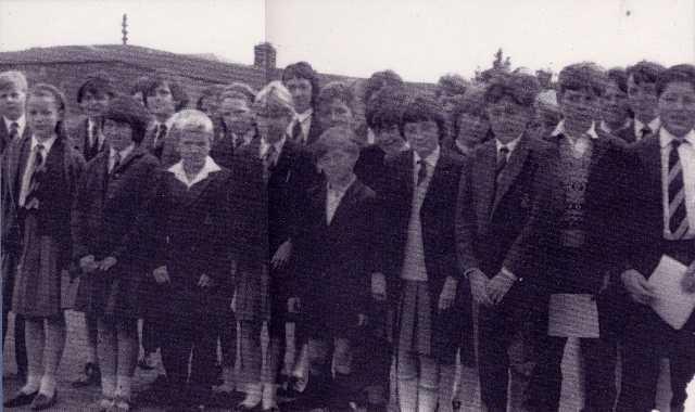 Invergordon Academy - Primary 7, 1966.