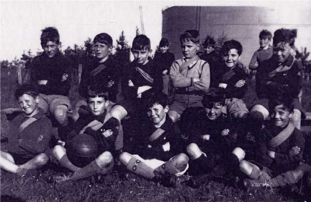 Invergordon Cubs Football Team, 1936