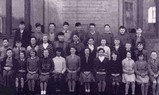 Invergordon Academy - Primary 7, 1958