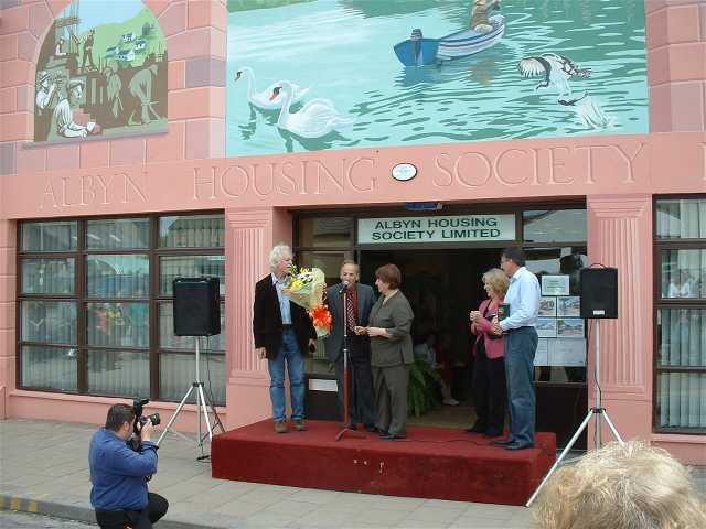 Official Unveiling of the first Invergordon Mural