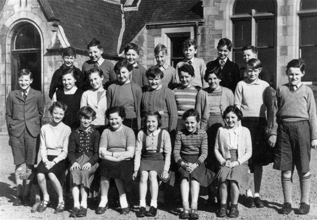 Invergordon Academy Primary 7 1954