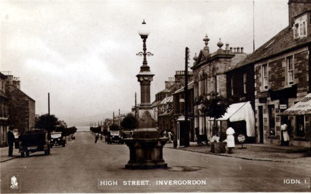 Invergordon High Street, looking West