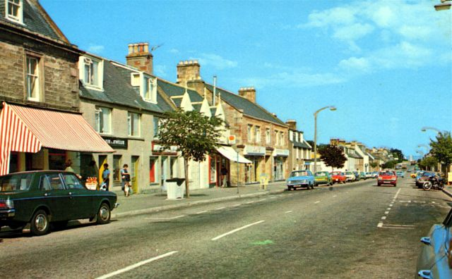 Invergordon High Street, looking East