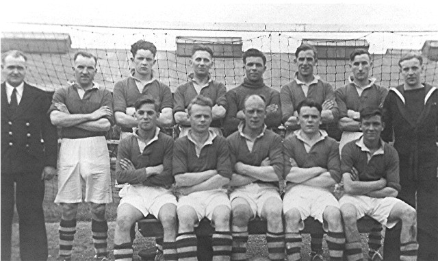 Invergordon Football during the War