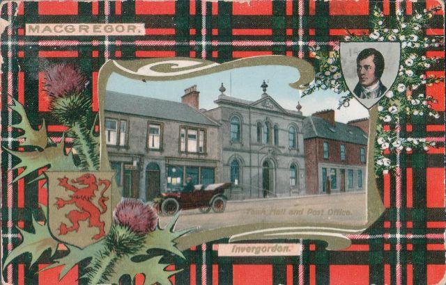 Invergordon Postcard