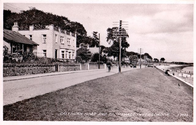 Saltburn Road and Promenade, Invergordon