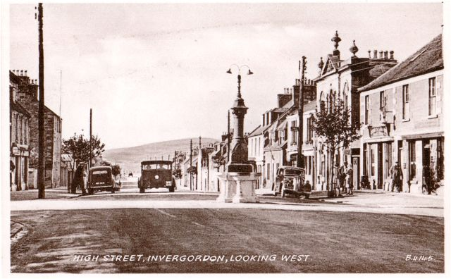 High Street, Invergordon, Looking West