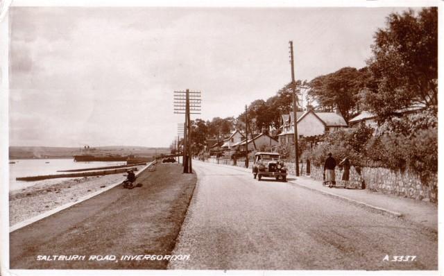 Saltburn Road, Invergordon