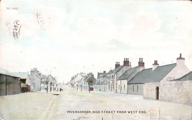 Invergordon, High Street from West End