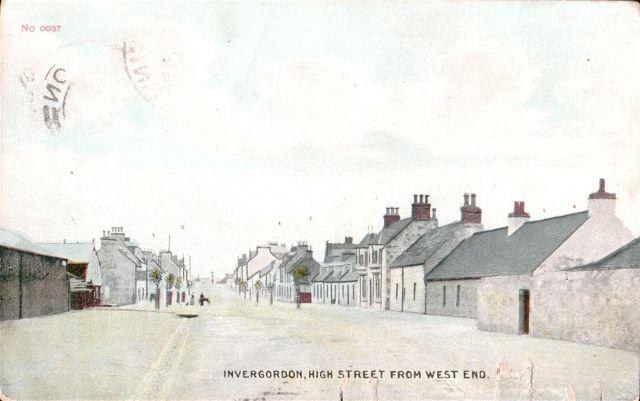 Invergordon, High Street from West End