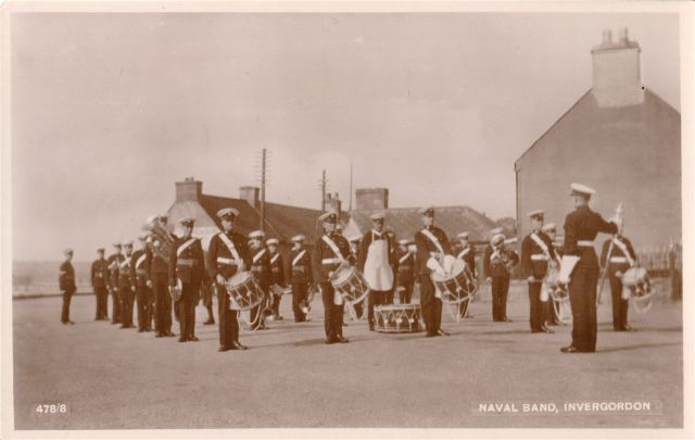 Naval Band, Invergordon