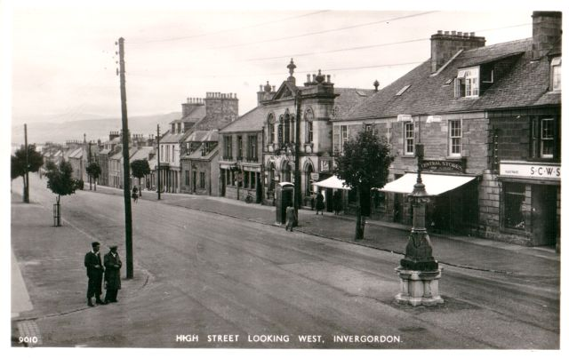 High Street Looking West, Invergordon