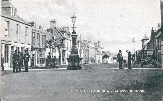 High Street, Looking East, Invergordon