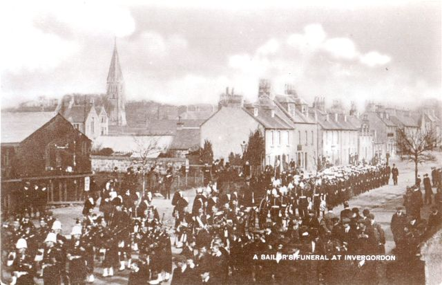 A sailor's Funeral at Invergordon