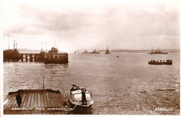 Admiralty Pier, Invergordon