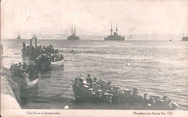 The Fleet at Invergordon