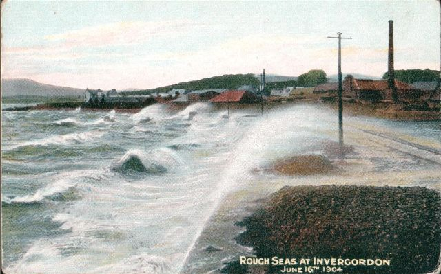 Rough Seas at Invergordon