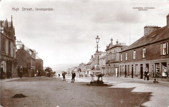 High Street, Invergordon