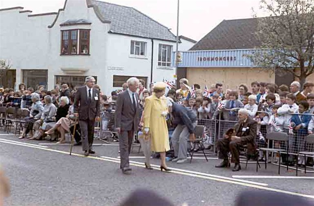 The Queen in Invergordon High Street