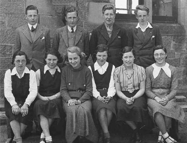 Invergordon Academy 1935 - 1937
