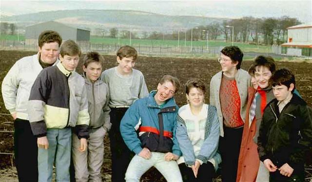 Invergordon Academy Science Class 1987/88
