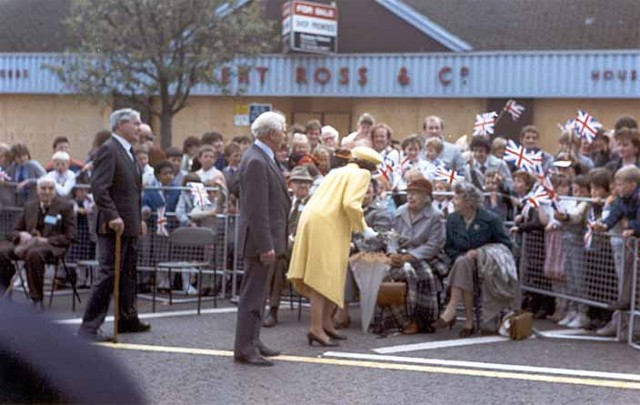 The Queen in Invergordon High Street