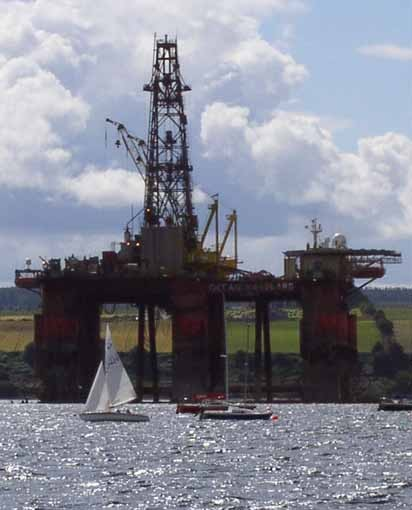 Sailing in the Cromarty Firth