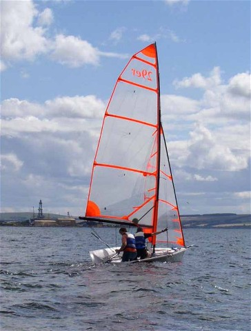 Youth Training Dinghy off Invergordon