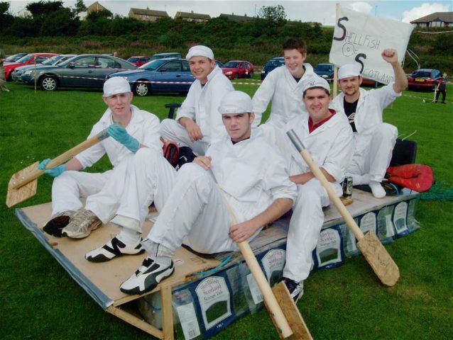 Raft SOS - Invergordon Raft Race 2004