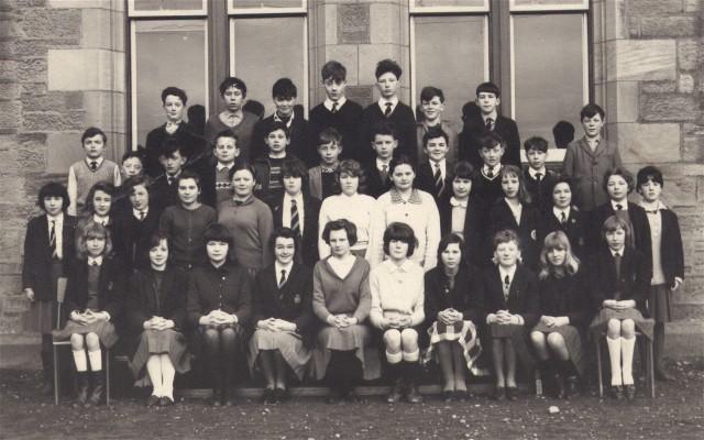 Invergordon Academy Primary 7 - 1966