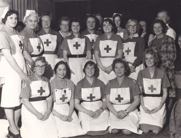 Invergordon Red Cross, probably in the 1960s