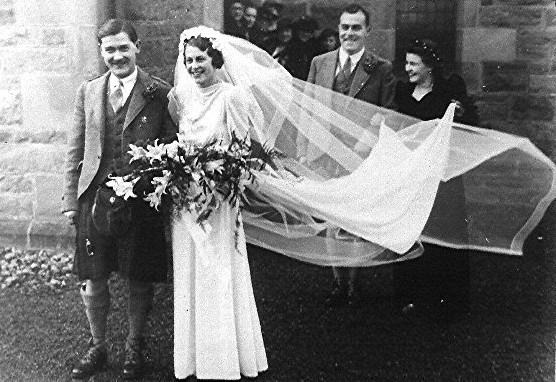 Wartime wedding
