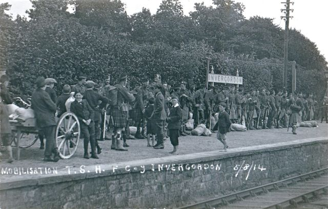 Mobilisation at Invergordon