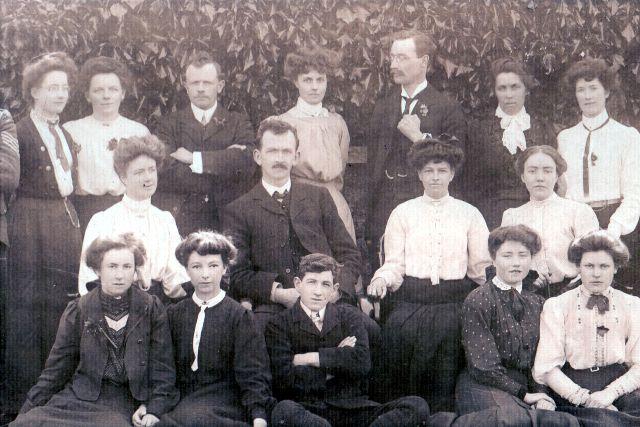 Academy teachers - 1906