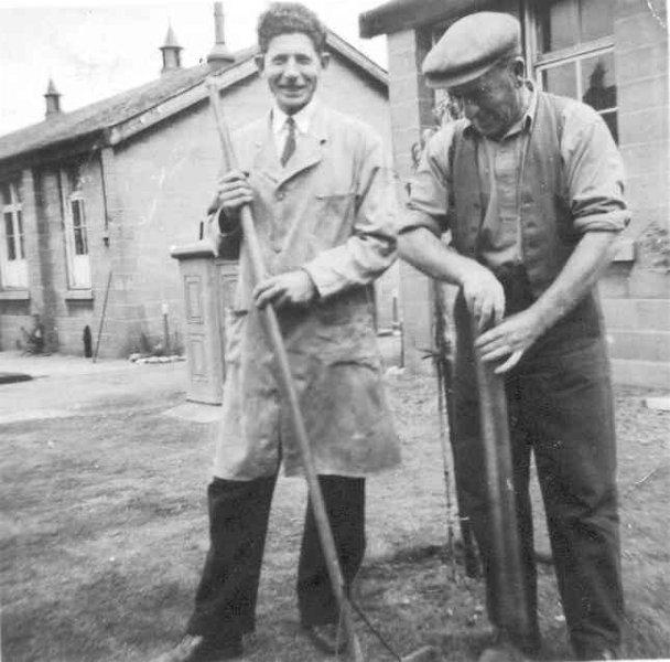 Gardening at Invergordon Hospital