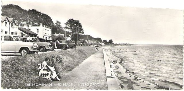 The Promenade and Beach, Invergordon