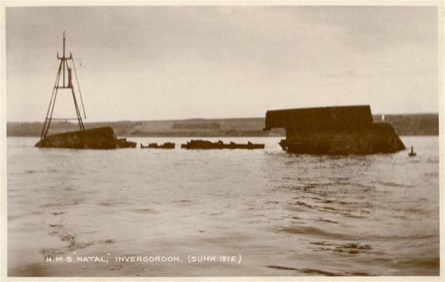 The Wreck of HMS Natal