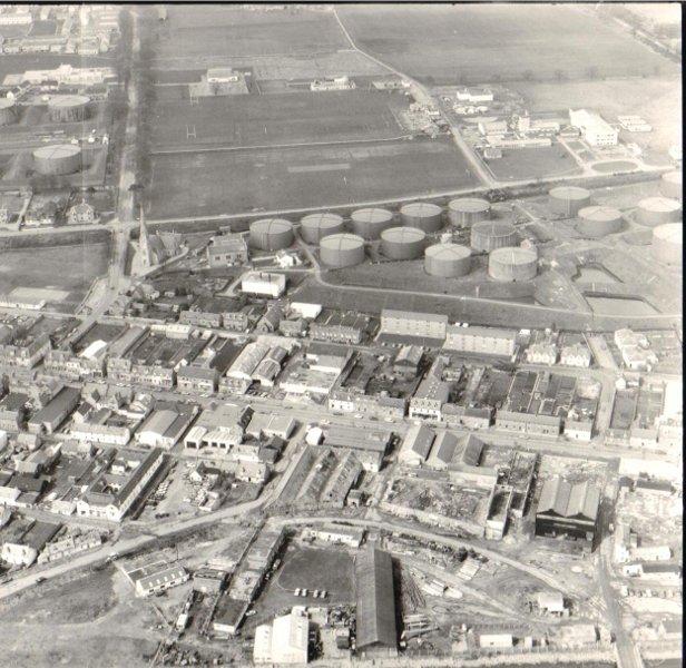 Aerial view of Invergordon